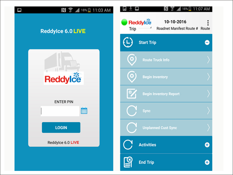 Reddy Ice Dsd Mobile Application