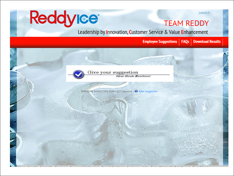 REDDY ICE SURVEY